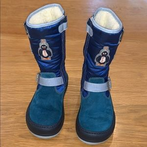 RARE~ OILILY ~Perfect Snuggly Winter Boots ~ Sz10